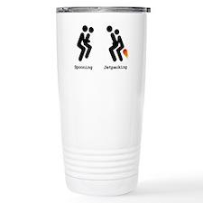 Spooning and Jetpacking Travel Mug