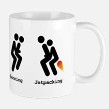 Spooning and Jetpacking Mug
