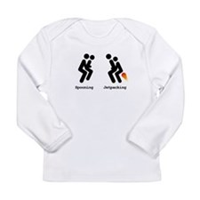 Spooning and Jetpacking Long Sleeve T-Shirt