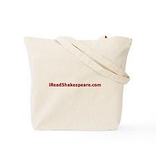 I Read Shakespeare Tote Bag