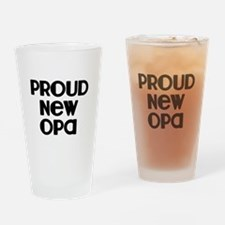 Proud New Opa-blk Drinking Glass
