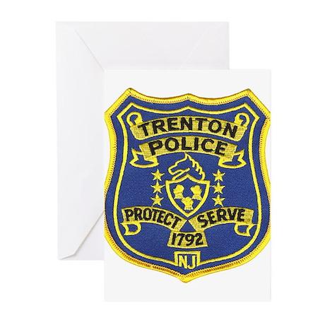 Trenton Police Greeting Cards (Pk of 10)