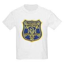 Trenton Police Kids T-Shirt
