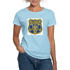 Trenton Police Women's Pink T-Shirt