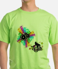 Rock out with the DJ - Music Shirt T-Shirt
