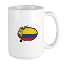 Colombia Mission - Colombia Flag - LDS Mission Mug