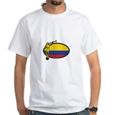 Colombia Mission - Colombia Flag - LDS Mission T-S
