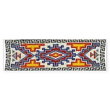 Beaded Tribal Band Bumper Bumper Sticker