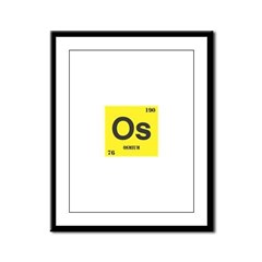 Osmium Element Framed Panel Print