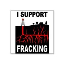 FRACKING Sticker