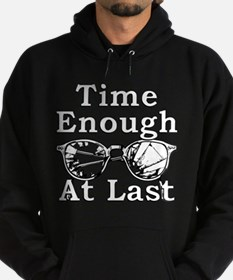 Time Enough At Last Glasses Hoodie