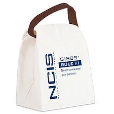 NCIS Gibbs' Rule #1 Canvas Lunch Bag