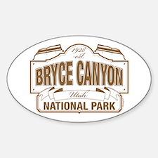 Bryce Canyon Sticker (Oval)