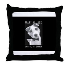 Martini Jack Throw Pillow