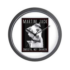 Martini Jack Wall Clock