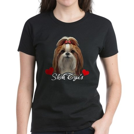 Love Shih Tzu's Women's Dark T-Shirt