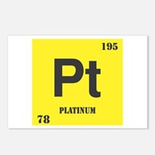 Platinum Element Postcards (Package of 8)