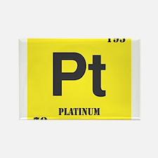 Platinum Element Rectangle Magnet (10 pack)