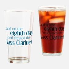 Bass Clarinet Creation Drinking Glass