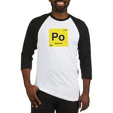 Polonium Element Baseball Jersey