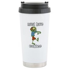 Walking dead blood logo walking dead Travel Mug