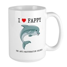 I Heart Fappy, The Anti-Masturbation Dolphin Mug
