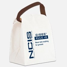 NCIS Gibb's Rule #8 Canvas Lunch Bag