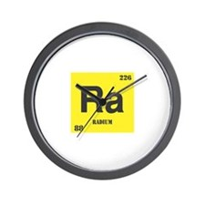 Radium Element Wall Clock