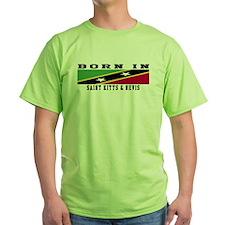 Born In Saint Kitts & Nevis T-Shirt