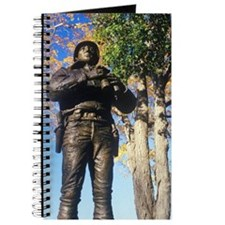 """Statue of George Patton, US Military Acad Journal"