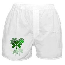 Faded Shamrocks-Trans Boxer Shorts
