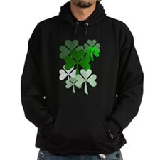 Faded Shamrocks-Trans Hoody
