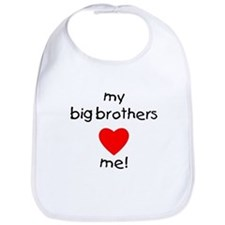 My big brothers love me Bib