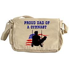 BEST GYMNAST DAD Messenger Bag