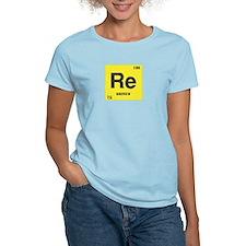 Rhenium Element Women's Pink T-Shirt