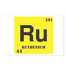 Ruthenium Element Postcards (Package of 8)