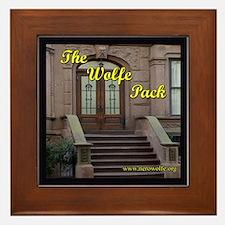 Nero Wolfe Framed Tile