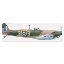 1939 Supermarine Spitfire, side v Bumper Sticker
