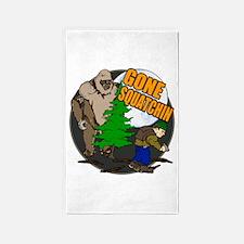 Gone Squatchin 4 3'x5' Area Rug
