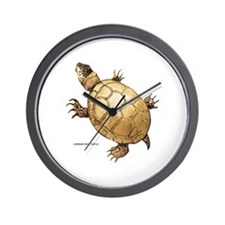 Common Mud Turtle Wall Clock