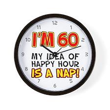 Im 60 Happy Hour Wall Clock