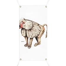 Baboon Ape Monkey Banner