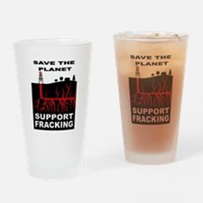 FRACKING Drinking Glass