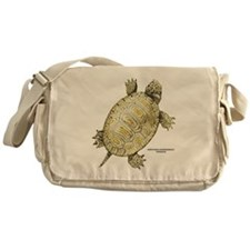 Northern Diamondback Turtle Messenger Bag