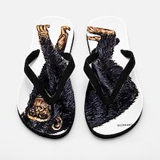 Chimpanzee Monkey Ape Flip Flops