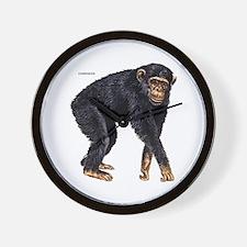 Chimpanzee Monkey Ape Wall Clock