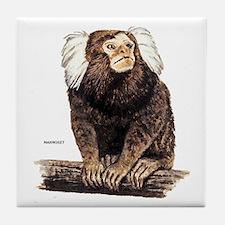 Marmoset Monkey Tile Coaster