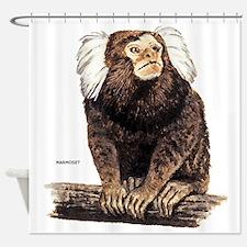 Marmoset Monkey Shower Curtain