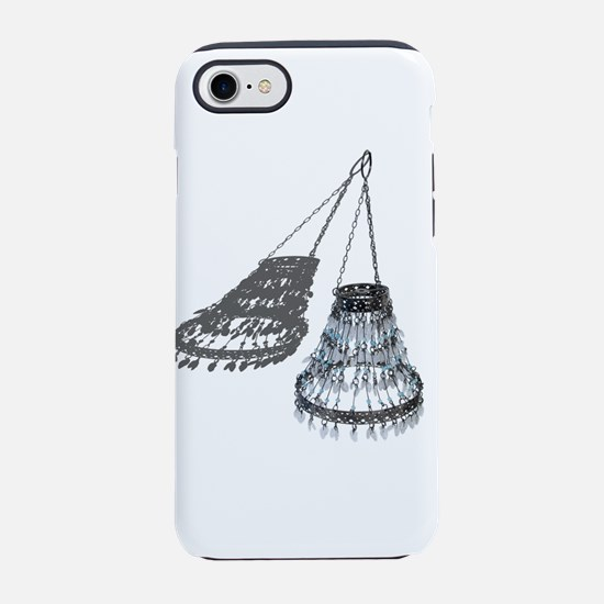 Chandelier with Shadow iPhone 7 Tough Case