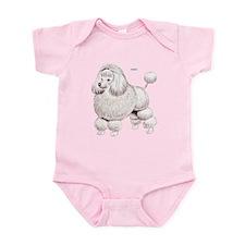 Poodle Dog Infant Bodysuit